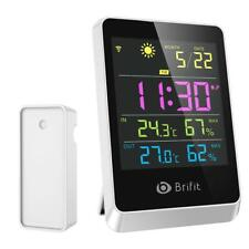 Brifit Weather Station, Wireless Indoor Outdoor Digital Temp And Humidity N4