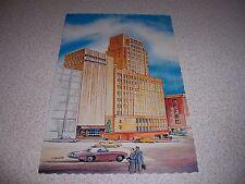 1960s WASHINGTON ATHLETIC CLUB SEATTLE WA. VTG ART POSTCARD
