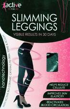 Patternless Slimming Plus Size Leggings for Women
