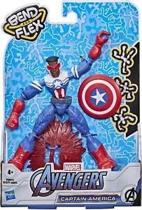 Bend And Flex Marvel Avengers - Captain America (Sam Wilson)