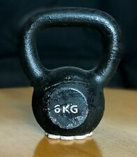 Vintage CAST IRON KETTLEBELL 6 kg /13 lb Fitness Training Home Gym Doorstop