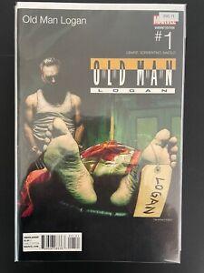 Old Man Logan 1 Hip Hop Variant High Grade Marvel Comic Book D31-71