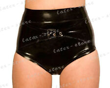 193 Latex Rubber Gummi control briefs Shorts Panties underwear customized 0.4mm