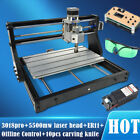 3018 PRO Engraving Machine Router  3 Axis CNC Wood DIY Mill+5500mw Laser head