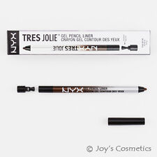 2 X NYX 0.5 G TRES Jolie GEL Pencil Liner Tjl02 Brown