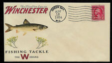 1920s Lake Trout Winchester Fishing Ad Reprint Collector's Envelope OP1359