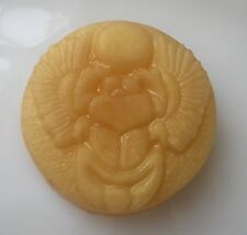 Egyptian Gold Scarab Glycerin Goat Milk Soap in Frankincense & Sandalwood EO
