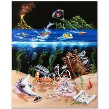 "Michael Godard ""Sand Bar 2 (AP)"" Limited Edition Giclee on Canvas"