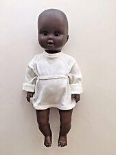 Vintage Ethnic/Black Baby DOLL 39cm UNICA (Made in Belgium)