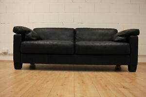 De Sede DS-17 Büffel Leder Sofa /Lounge/ Dickleder/ Design Sofa/Swiss Quality