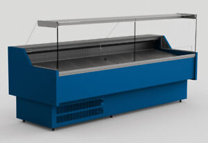ORIS REFRIGERATED SERVE OVER COUNTER DISPLAY VARIOUS COLOURS & DIMENSIONS