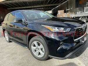 Side Steps Running Boards Aluminium for The New Toyota Kluger 2021 (XR)