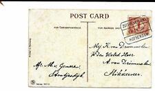 Tram blokstempel Zuid-Beijerland III naar Slikkerveer 1914 van Stoutjesdijk
