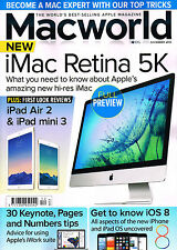 MACWORLD December 2014 iMAC RETINA 5K iPad Air 2 MAC MINI 30 iWork Tips @NEW@