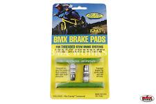 Kool Stop BMX Brake Pads Green - Sold In Pairs