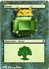 Forêt altéré - Alterée Lorwyn Forêt - Mox Emerald - Michael Newton - Magic mtg