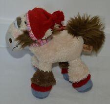 Peluche originale doudou vintage Galupy DIDDL cheval montagne Depesche 22cm