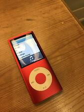 Ipod nano 4th Gen 8gb Red New Battery 4