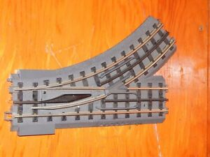 MTH RealTrax O-31 LH Switch Track Section Used