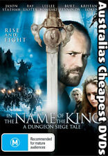 In The Name Of The King DVD NEW, FREE POSTAGE WITHIN AUSTRALIA REGION ALL