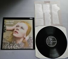 David Bowie - Hunky Dory German Black Label LP with Insert INTS Sticker