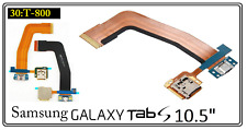 "Samsung Galaxy Tab S 10.5"" T800 T805 Micro USB Charging Port SD Card Flex Cable"