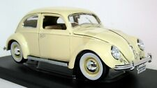 Maisto 1/18 Scale - 1955 Volkswagen Kafer Beetle Cream Diecast Model Car