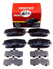 MINTEX REAR AXLE BRAKE PADS ABARTH FIAT MAZDA MDB2772 (REAL IMAGE OF PART)
