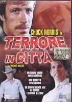 Dvd **TERRORE IN CITTÀ** con Chuck Norris nuovo 1982