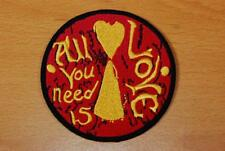 """THE BEATLES, """"ALL YOU NEED IS LOVE"""" CLOTHING PATCH LYRICS"""