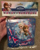 Disney Frozen Happy Birthday Banner Length 6ft
