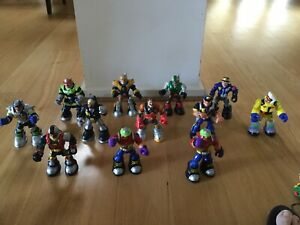 Rescue Heroes Bulk Lot  12 With Accessories