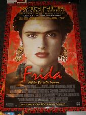 Frida Movie Promo Poster rolled Salma Hayek Antonio Banderas Edward Norton