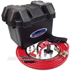 FORD FALCON AU 2-3 BA 2-3 BF 2-3 XR6 FAIRMONT 1998-2010 BATTERY RELOCATION KIT