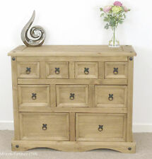 Corona Merchant Chest of Drawers Mexican Pine 4+3+2 by Mercers Furniture®