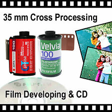 35mm Cross Processing Film & CD with - 4.5mb Per Photo