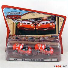 Disney Pixar Cars Mia and Tia Red Miata Twins World of Cars series Movie Moments