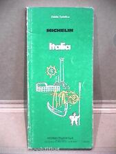 ITALIA Guida Turistica AA VV Michelin Italiana 1984 Libro Manuale Viaggi di