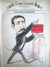 Hovelacque Naturalist Anthropologue Caricature Gill Men Today 1878