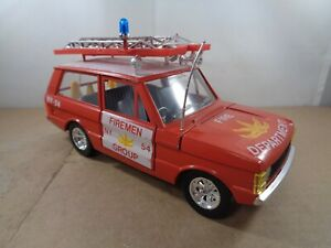 Burago no.0104 AIRPORT Range Rover FIRE DEPARTMENT In 1:24 Scale , Boxed