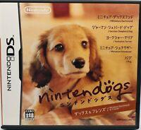 Nintendo DS Nintendogs: Dachshund & Friends Japanese Ver