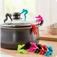 1PC Novelty Silicone Gadget Kitchen Tools Raise The Lid Overflow Device Stent