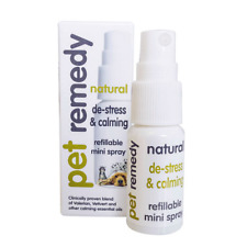 Pet Remedy Mini Pet Calming Spray Naturel Calmant & De-Stress feux d'artifice Chien Chat