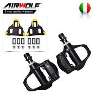 Pedali Airwolf 10*9.2mm per bici da corsa con tacchetti galleggianti Shiman-o IT