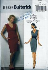 Butterick 5385 Sewing Pattern Suzi Chin Maggy Boutique Misses' Dress sz 14 - 20