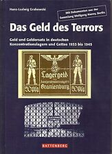 The money of terror, concentration camps, ghetto, gietl