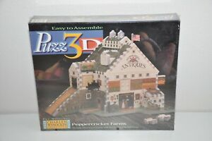 Charles Wysocki Americana Puzz 3D Peppercricket Farms Puzzle 1997 Sealed New