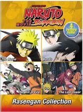Naruto Shippuden The Movie Rasengan Collection [New DVD] Oversize Item Spilt ,