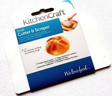 Kitchen Craft Dough Cutter Scraper Lifter Bread Pastry Rolls Buns Baking Utensil