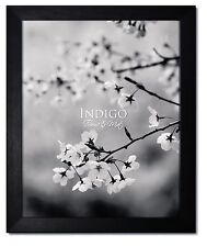 11X14 Black Wood Picture Frame with Glass